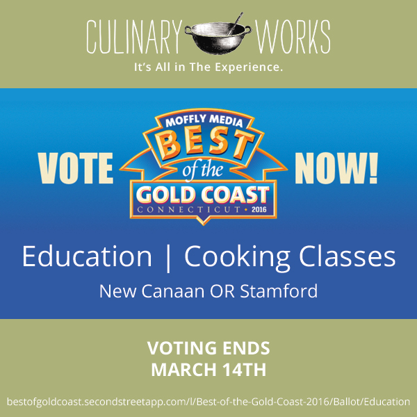 "Vote Culinary Works for ""Best of the Gold Coast"""